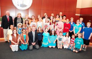 Elk Grove Village Kids Thanked For Their Community Service