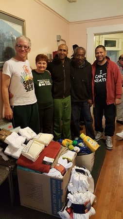 Donation to Eddie Beard Transitional Home for Veterans
