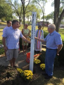 Photos: Peace Pole Dedication